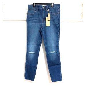 MADEWELL Petite Roadtripper Knee Rip Jeans